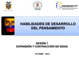 PROCESOS DE EXPANSION Y CONTRACCION