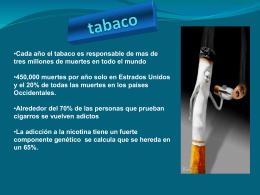 tabaco y otras drogas
