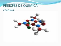 PREICFES DE QUIMICA
