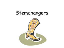 Stemchangers