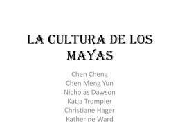 Presentación Maya
