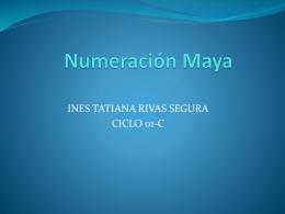 Numeración Maya