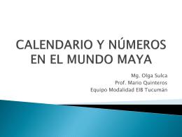 matematica maya