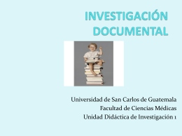 investigación documental 4