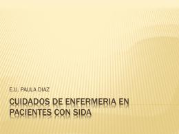CUIDADOS DE ENFERMERIA EN PACIENTES CON SIDA