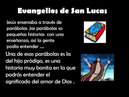Evangelios de San Lucas - Cambridge College Secondary Religion