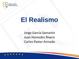 El Realismo - Página web de Jorge García Samartín