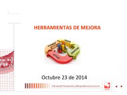 Modificación Herramientas de Descentralizados para el 2014