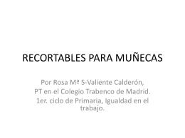 RECORTABLES PARA MUÑECAS