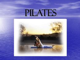 Pilates study guide
