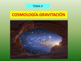 PP.COSMOLOGIA.GRAVITACION