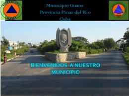 Caracterización del municipio Guane en la provincia de Pinar del Río.
