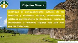 presentación turismo magisterial