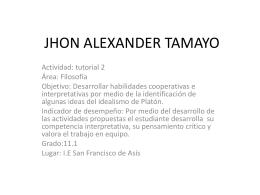 JHON ALEXANDER TAMAYO