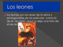 Francisco Javier- Los leones