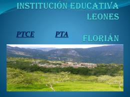 INSTITUCIÓN EDUCATIVA LEONES FLORIÁN