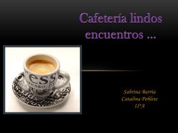 Cafetería citas express*
