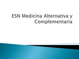 ESN Medicina Alternativa y Complementaria ESN