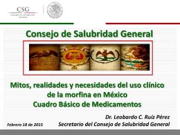 Dr. Leobardo C. Ruíz Pérez - Academia Nacional de Medicina