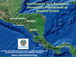 Coordinación de la Asistencia Humanitaria Internacional en