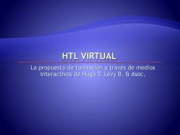 ¿Qué es HTL Virtual?