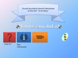 Homosexualidad - WordPress.com