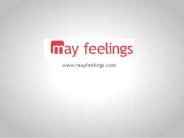 ¿qué es may feelings?