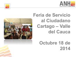 Informe Feria Cartago