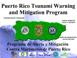puerto rico fault systems - Red Sísmica de Puerto Rico