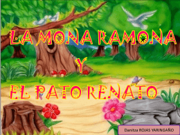 cuento RENATO Y RAMONA