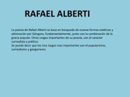 Rafael Alberti - WordPress.com