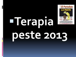 TERPIA PESTE - CMP