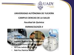 estreptomicina - Universidad Autónoma de Yucatán