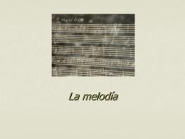 La melodía - Pablo Galarce