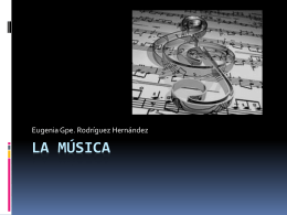 La Música - WordPress.com
