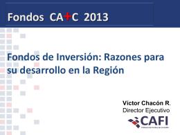 Víctor Chacón. Costa Rica - Cámara de Fondos de Inversión (CAFI