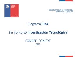 Programa IDeA