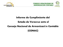 CONSEJO VERACRUZANO DE - Contraloría General del Estado