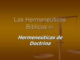 Discernimiento de la Doctrina sana