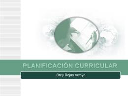 planificación curricular. - UGEL-06
