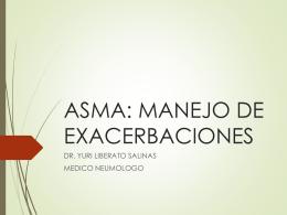 EXPOSICION ASMA EXACERBACIONES ABRIL 2015