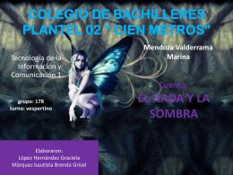 COLEGIO DE BACHILLERES PLANTEL 02 * CIEN METROS*