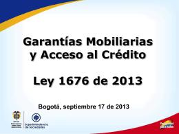 SUPERSOCIEDADES Presentación Garantías Sep 17
