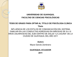 Presentación1 - Repositorio Digital Universidad de Guayaquil