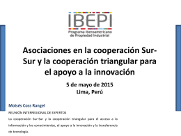 WIPO/SSC/LIM/15 - Session 3 (Coss Rangel)