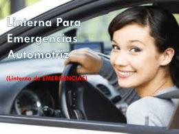 Linterna Para Emergencias Automotriz