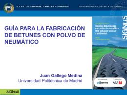 Sr. D. Juan Gallego