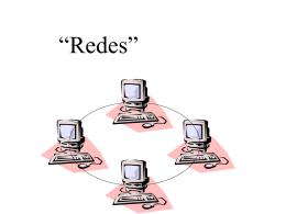 redes_internet - TECNOLOGÍA E INFORMATICA