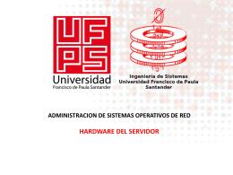 Servidor - Administracion de Sistemas Operativos de Red