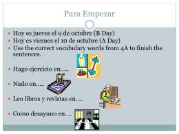 File - Profe Rojas` Spanish class